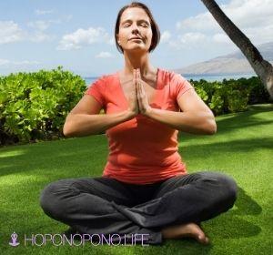 Medite com a técnica do Hoponopono